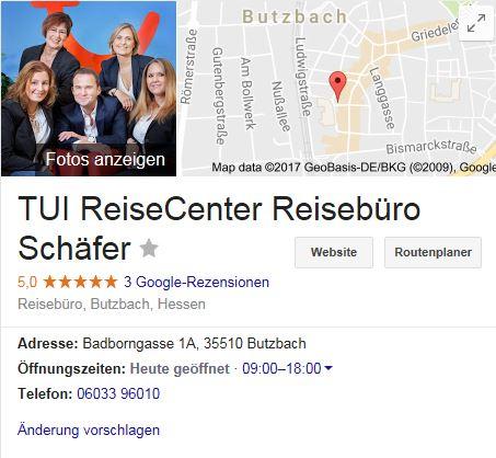Reisebüro Schäfer